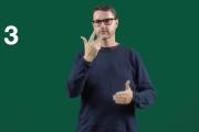 Screenshot mit grünem Hintergrund