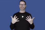 Screenshot von DGS-Video mit Uwe Zelle